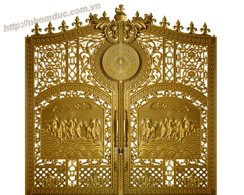 Báo giá cổng nhôm đúc Báo giá nhôm đúc, báo giá các loại cổng nhôm đúc từ cổng nhôm đúc đơn giản đến cổng nhôm đúc phức tạp