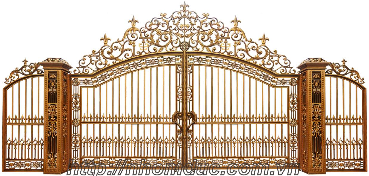 Báo giá cổng nhôm đúc tại TPHCM