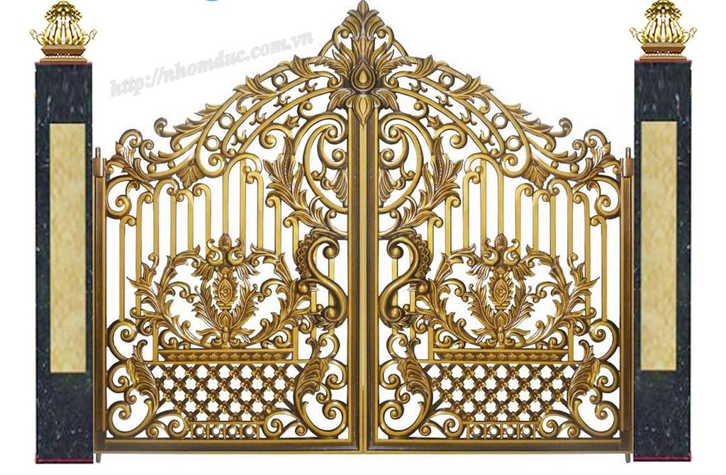 Báo giá cổng nhôm đúc tại TPHCM. Nhà máy sản xuất cổng nhôm đúc xin gửi đến quý khách bảng báo giá cổng nhôm đúc tphcm