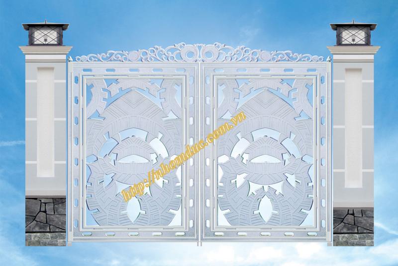 Cổng hợp kim nhôm Đúc 1, Cửa cổng hợp kim nhôm đúc