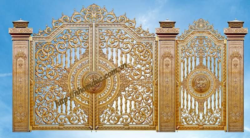 Báo giá cổng đồng đúc